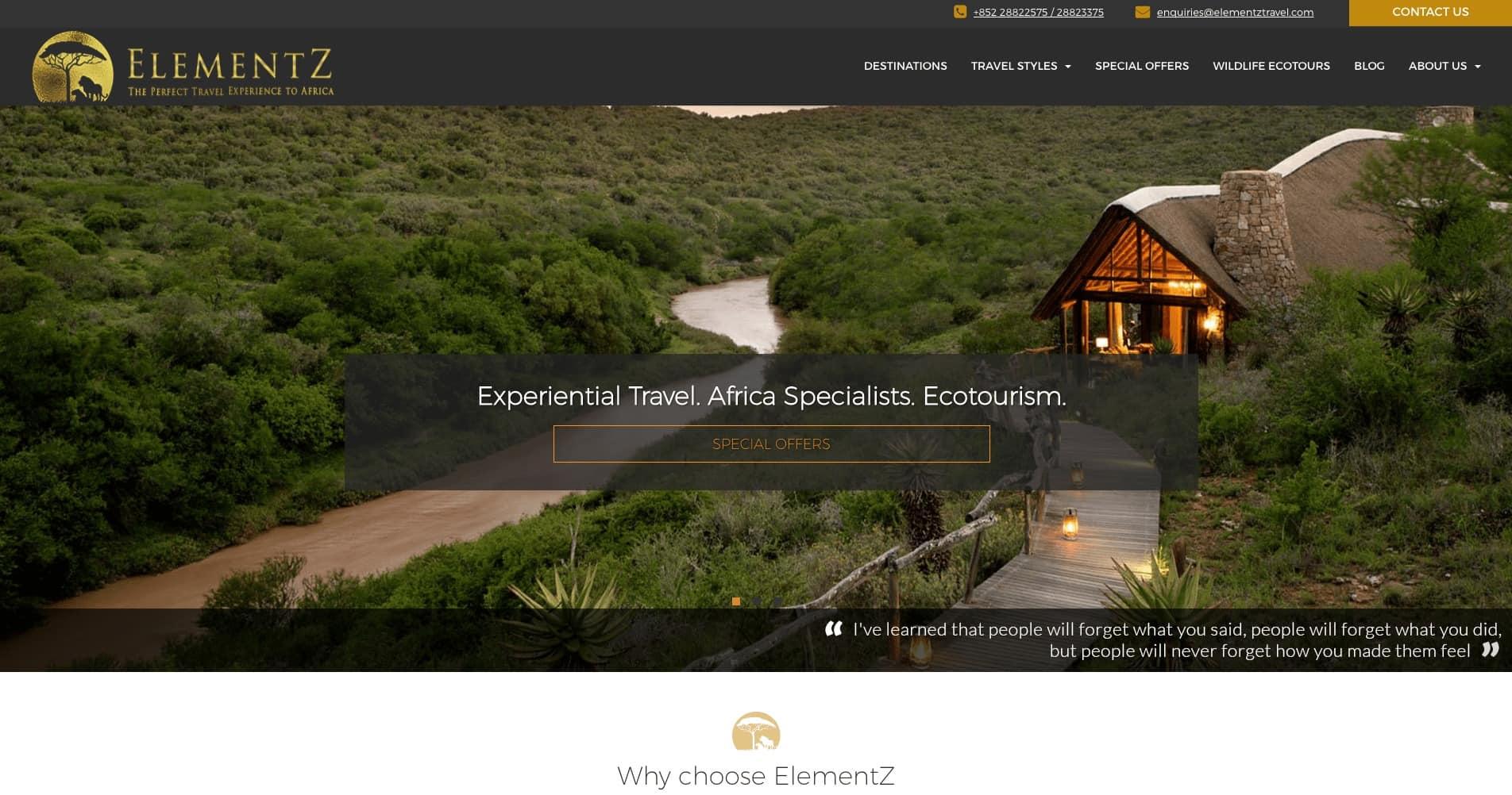Elementz Travel